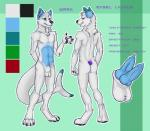 animal_genitalia animal_penis anthro back_muscles balls canine canine_penis diphallism fish heterochromia hybrid knot male male/male mammal marine model_sheet multi_penis penis shark tailfin wolf  Rating: Explicit Score: 5 User: mutanimal Date: April 23, 2016