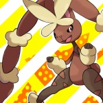 ambiguous_gender anthro brown_fur fur lagomorph mammal mega_evolution mega_lopunny nintendo pink_eyes pokémon rabbit rayquazaqueen solo video_games  Rating: Safe Score: 3 User: Rad_Dudesman Date: November 12, 2015