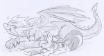 black_and_white cutie_mark dragon equine female feral friendship_is_magic hair horn horse lolover long_hair male mammal monochrome my_little_pony pony scalie sketch spike_(mlp) twilight_sparkle_(mlp)   Rating: Safe  Score: 4  User: jojo400  Date: April 24, 2012