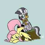 animated drumming equine female fluttershy_(mlp) friendship_is_magic horse mammal my_little_pony pegasus ponchuzn pony wings zebra zecora_(mlp)   Rating: Safe  Score: 4  User: ephemeralfox  Date: March 07, 2014