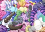 applejack_(mlp) butt cheerilee_(mlp) cutie_mark derpy_hooves_(mlp) equine female fluttershy_(mlp) friendship_is_magic group hi_res horn horse mammal my_little_pony pegasus pinkie_pie_(mlp) pony princess_celestia_(mlp) princess_luna_(mlp) rainbow_dash_(mlp) rarity_(mlp) shepherd0821 socks twilight_sparkle_(mlp) unicorn vinyl_scratch_(mlp) winged_unicorn wings   Rating: Questionable  Score: 32  User: DragonRanger  Date: December 31, 2013