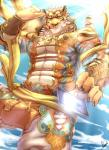 abs anthro biceps clothed clothing clouded_leopard dingding_(artist) feline fur male mammal muscular nekojishi pecsRating: SafeScore: 6User: VallizoDate: February 23, 2017