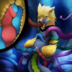 """all_three_filled anal anal_penetration blush darkmirage double_vaginal egg female fur inflation internal manectric nintendo oral oviposition penetration pokémon pussy sex shiny_pokémon smile tentacles vaginal vaginal_penetration video_games yellow_fur yellow_pussy  Rating: Explicit Score: 20 User: Sneaky Date: March 10, 2015"""""""