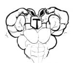 abs armor biceps big_muscles clothed clothing half-dressed helmet lagomorph male mammal monochrome muscular rabbit rg01 ripped-saurian sketch solo topless undertale  Rating: Safe Score: 0 User: Tealmarket Date: October 09, 2015
