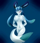 2014 anthro anthrofied big_breasts breasts butt canine cum cum_in_mouth cum_inside cum_on_body cum_on_breasts cum_on_face eeveelution female fur glaceon looking_at_viewer mammal navel nintendo nipples nude open_mouth pokémon pokémorph smile solo standing tongue unknown_artist video_games  Rating: Explicit Score: 9 User: N7 Date: December 21, 2014