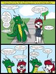 anthro canine clothing comic cub dog dragon duo english_text hair husky kammypup kammypup_(artist) mammal red_hair speech_bubble text young  Rating: Safe Score: 1 User: Chikita Date: January 24, 2016