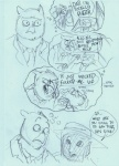 anthro avian bird casket coffin comic death distressedegg english_text father female funeral male monochrome necktie owl parent sketch son stated_homosexuality text umbrella  Rating: Safe Score: 2 User: slyroon Date: November 18, 2014