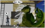 ! 2015 ajder angry bucket clothed clothing comic dialogue draghi dragon elf feral green_scales hi_res house humanoid humor jonaleth nude paint paintbrush painting scales scalie western_dragon white_paint wings  Rating: Safe Score: 16 User: syrmat Date: October 31, 2015