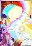 2017 absurd_res applejack_(mlp) black_eye comic dialogue english_text equine facial_piercing female fluttershy_(mlp) friendship_is_magic group hi_res horn horse insect_wings light262 magic male mammal my_little_pony nightmare_moon_(mlp) nose_piercing nose_ring pegasus piercing pinkie_pie_(mlp) pony princess_celestia_(mlp) princess_luna_(mlp) rainbow_dash_(mlp) rarity_(mlp) text twilight_sparkle_(mlp) unicorn winged_unicorn wings