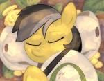 1trick 2016 daring_doo_(mlp) equine eyes_closed friendship_is_magic hair hat horse lying mammal my_little_pony pony sleeping solo