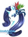 2012 equine female flower friendship_is_magic half-closed_eyes horn lovelyfantasy mammal my_little_pony plant rarity_(mlp) simple_background solo unicorn white_background  Rating: Safe Score: 1 User: Kholchev Date: February 13, 2013