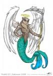 2008 angel death female fredrik_k_t_andersson mammal marine melee_weapon merfolk mustelid otter polearm scythe weapon wings  Rating: Questionable Score: 4 User: Linnefer Date: March 31, 2016