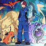 absurd_res charmander cloyster crossover eeveelution eyewear fire glaceon goggles hair hi_res human ice icepick lapras male mammal my_hero_academia ninetales nintendo pokéball pokémon pokémon_(species) red_hair scar talonflame todoroki_shouto video_games white_hair zeaw90