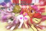 apple_bloom_(mlp) cutie_mark_crusaders_(mlp) diamond_tiara_(mlp) equine female friendship_is_magic group horn horse lumineko mammal my_little_pony pegasus pony scootaloo_(mlp) sweetie_belle_(mlp) unicorn wings  Rating: Safe Score: 5 User: lumineko Date: October 13, 2015