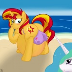 animal_genitalia beach belly big_belly big_breasts bikini breasts clothed clothing cutie_mark duo equestria_girls equine female friendship_is_magic fur hair hooves horn lactating long_hair mammal multicolored_hair my_little_pony nipples open_mouth outside overweight pregnant princess_celestia_(mlp) putinforgod seaside smile sunset_shimmer_(eg) swimsuit teal_eyes teats twilight_sparkle_(mlp) two_tone_hair unicorn water white_fur  Rating: Questionable Score: 1 User: Mcnair32 Date: December 28, 2015
