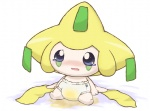 1992_hal_laboratory_inc alternate_color ambiguous_gender blue_eyes blush crying diaper jirachi legendary_pokémon nintendo open_mouth peeing pixiv pokémon sitting tears tongue urine video_games watersports wet   Rating: Questionable  Score: 2  User: Dewzel  Date: December 31, 2012