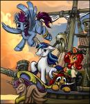 2015 bracelet bucket clothing equine fan_character female flying friendship_is_magic gold_(metal) group hair harwick horn horse jewelry knife male mammal mop my_little_pony pegasus pirate pirate_ship pony red_hair ring shining_armor_(mlp) unicorn wings  Rating: Safe Score: 5 User: 2DUK Date: October 26, 2015