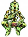 3d_(artwork) cgi crouching digital_media_(artwork) echoes_act3 green_body humanoid jojo's_bizarre_adventure male not_furry official_art simple_background solo stand_(jjba) unknown_artist white_background yellow_eyes young  Rating: Safe Score: 1 User: Mutisija Date: January 17, 2016