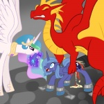 2012 balddumborat bdsm blood blue_hair bound chain chained claws clenched_teeth crown crying cutie_mark death_by_penis dragon equine eyes_closed female feral forced friendship_is_magic hair helmet horn interspecies male male/female mammal my_little_pony open_mouth penis princess_celestia_(mlp) princess_luna_(mlp) rape ridiculous_fit screaming size_difference tears teeth thick_penis tongue winged_unicorn wings   Rating: Explicit  Score: -18  User: JxcelDolghmQ  Date: March 07, 2012