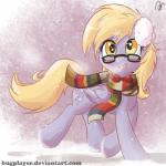 2015 amber_eyes blonde_hair blush bugplayer cutie_mark derpy_hooves_(mlp) equine eyewear feathered_wings feathers female feral friendship_is_magic fur glasses grey_feathers grey_fur hair hi_res horse looking_at_viewer mammal my_little_pony open_mouth pegasus ponysolo scarf smile snow wings  Rating: Safe Score: 2 User: ConsciousDonkey Date: May 02, 2016