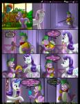 """2014 blue_eyes bow_tie comic cutie_mark dialogue dragon english_text equine facepalm fan_character female feral flower food friendship_is_magic fur gem green_eyes group hair horn inside kitsune_youkai male mammal multicolored_hair my_little_pony open_mouth outside plant purple_hair rarity_(mlp) scalie spike_(mlp) sweetie_belle_(mlp) text twilightstormshi two_tone_hair unicorn white_fur  Rating: Safe Score: 14 User: TwilightStormshi Date: September 27, 2014"""""""