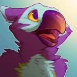 2012 avian beak female gryphon merygryph merystic purple_feathers solo   Rating: Safe  Score: 31  User: TonyLemur  Date: September 24, 2012