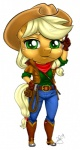 2014 anthro anthrofied applejack_(mlp) big_head blonde_hair clothed clothing earth_pony equine female freckles friendship_is_magic gloves green_eyes hair hat horse looking_at_viewer mammal my_little_pony pia-sama pony rope simple_background solo standing white_background  Rating: Safe Score: 7 User: lemongrab Date: November 30, 2014
