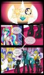 2015 changeling comic dialogue earth_pony english_text equine female feral friendship_is_magic horn horse male mammal my_little_pony pegasus pony princess_celestia_(mlp) queen_chrysalis_(mlp) ranged_weapon text unicorn vavacung weapon winged_unicorn wings  Rating: Safe Score: 3 User: Robinebra Date: June 03, 2015""