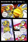 2015 blush changeling comic dialogue duo english_text equine feral friendship_is_magic horn male mammal my_little_pony royal_guard_(mlp) text unicorn vavacung  Rating: Safe Score: 6 User: Robinebra Date: August 17, 2015