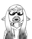 cephalopod fangs female inkling marine monochrome solo source_request splatoon squid unknown_artist   Rating: Safe  Score: 6  User: Juni221  Date: May 14, 2015