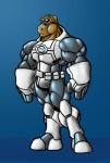 anthro armor battlesuit equine green_eyes horse machine male mammal mecha mechanical muscles power_armor robot solo standing tkc2021   Rating: Safe  Score: 0  User: NekoJin24  Date: September 21, 2009