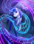 2015 blue_hair cutie_mark equine female friendship_is_magic glowing hair horn levitation magic mammal musical_note my_little_pony purple_eyes solo sparkles speakers unicorn vinyl_scratch_(mlp) viwrastupr  Rating: Safe Score: 12 User: 2DUK Date: July 30, 2015