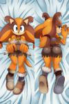 2015 anthro badger big_breasts big_butt breasts butt cleavage clothed clothing female mammal mustelid solo sonic_(series) sssonic2 sticks_the_jungle_badger  Rating: Safe Score: 22 User: Robinebra Date: March 13, 2015""