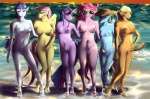 2011 anthro anthrofied applejack_(mlp) beach big_breasts blonde_hair blue_eyes blue_fur breasts cowboy_hat digital_media_(artwork) dripping equine eyewear fluffins fluttershy_(mlp) friendship_is_magic fur green_eyes group hair hand_holding hat herm horn horse intersex lineup long_hair looking_at_viewer mammal multicolored_hair my_little_pony nude one_eye_closed outside pegasus penis pink_fur pink_hair pinkie_pie_(mlp) pony purple_fur purple_hair pussy rainbow_dash_(mlp) rainbow_hair rarity_(mlp) seaside shit_just_got_real short_hair standing sunglasses twilight_sparkle_(mlp) unicorn water wet wet_pussy wings wink   Rating: Explicit  Score: -1  User: Falord  Date: July 14, 2013