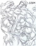 big_muscles black_and_white bulge flexing four_arms hyper hyper_muscles machamp machop male max monochrome multi_limb multiple_arms muscles nintendo pecs pokémon scetch video_games   Rating: Questionable  Score: 0  User: shadey  Date: April 23, 2013