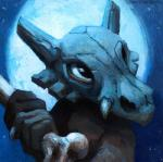 2018 ambiguous_gender black_eyes bone brown_skin bust_portrait claws cubone front_view holding_object holding_weapon kenket looking_up melee_weapon moon night nintendo outside painting_(artwork) pokémon pokémon_(species) portrait skull_mask solo standing traditional_media_(artwork) url video_games weaponRating: SafeScore: 8User: TheGreatWolfgangDate: May 11, 2018