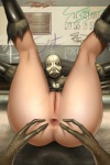 alien anus armor bottomless butt clothed clothing combine da_polar_inc disembodied_hand duo female half-life half_life_2 helmet human legs_up looking_at_viewer looking_through_legs lying mammal mask on_back pussy solo_focus spread_anus spreading video_games vortigaunt  Rating: Explicit Score: 2 User: SaimonPSmith Date: May 03, 2016