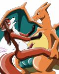 2014 <3 abdominal_bulge anal anthro anthro_on_feral bestiality big_dom_small_sub canine charizard dragon duo feral fox huge_penis interspecies knot lady_drasami male male/male mammal nintendo nude penis plain_background pokémon poképhilia ridiculous_fit scalie scarlet_svobodova sex size_difference video_games white_background   Rating: Explicit  Score: 13  User: Scarlet-Svobodova  Date: October 27, 2014