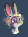 amazing clothing cute detailed disney female feral flower fur judy_hopps ky-jane lagomorph mammal plant rabbit smile solo zootopia  Rating: Safe Score: 4 User: Rodwood Date: May 05, 2016