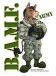 anthro army cooner donkey equine helmet looking_at_viewer male mammal muscles solo  Rating: Safe Score: 0 User: BasedDook Date: January 14, 2013