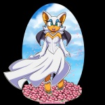 alpha_channel anklet barefoot blue_eyes breasts bride cleavage clothed clothing dress ear_piercing elbow_gloves female flower gloves jewelry necklace omegasunburst_(artist) pearl_necklace pearls piercing plant rouge_the_bat solo sonic_(series) wedding_dress wings  Rating: Safe Score: 11 User: ROTHY Date: August 12, 2015