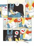 balls bed blush braixen canine comic cum cum_in_mouth cum_inside drooling fox humanoid_penis incest lucario male male/male mammal nintendo oral penis pillow pokémon red_eyes saliva sitting uncut video_games winick-lim  Rating: Explicit Score: 15 User: Winged-Lucario Date: May 28, 2015""