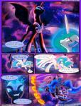 2017 animated comic equine fan_character female feral friendship_is_magic hi_res horn light262 mammal my_little_pony nightmare_moon_(mlp) princess_celestia_(mlp) princess_luna_(mlp) slit_pupils sparkles winged_unicorn wingsRating: SafeScore: 3User: 2DUKDate: February 18, 2017