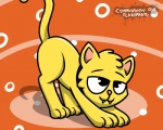 2016 cat digital_media_(artwork) feline feral fur hair male mammal pokefound simple_background smile solo  Rating: Safe Score: 1 User: Pokefound Date: July 31, 2016