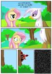avian blue_eyes brown_eyes comic dialogue digital_media_(artwork) edit english_text equine female five_nights_at_freddy's fluttershy_(mlp) foxy_(fnaf) friendship_is_magic gilda_(mlp) gryphon hair horse long_hair machine male mammal mechanical my_little_pony mysticalpha outside pink_hair pony robot stalking static text tree wings   Rating: Safe  Score: 15  User: Dogenzaka  Date: August 22, 2014