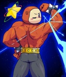 belt bracelet clothing jewelry kirby_(series) looking_back male muscles nintendo not_furry pants rako solo space spikes star video_games waddle_dee  Rating: Safe Score: 2 User: tartcore Date: July 30, 2015