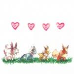 <3 aruberutoo canine eeveelution flareon fox group jolteon mammal nintendo pokémon sylveon vaporeon video_games  Rating: Safe Score: 5 User: Evoli-Eevee Date: September 27, 2015