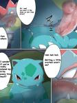angry beach comic english_text erection female feraligatr genital_slit humanoid_penis ivysaur knot maggotscookie male nintendo outside penis pokémon pussy seaside text video_games   Rating: Explicit  Score: 5  User: Imaderule34  Date: October 14, 2013