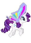 alpha_channel animated cutie_mark desktop_ponies equine female feral friendship_is_magic horn mammal my_little_pony plain_background rarity_(mlp) solo sprite transparent_background unicorn unknown_artist wings   Rating: Safe  Score: 2  User: Ohnine  Date: July 12, 2011