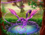 2015 equine female flying foliage forest friendship_is_magic grass hair horn magic mammal my_little_pony outside purple_eyes purple_hair solo tree twilight_sparkle_(mlp) viwrastupr waer winged_unicorn wings   Rating: Safe  Score: 17  User: 2DUK  Date: April 16, 2015